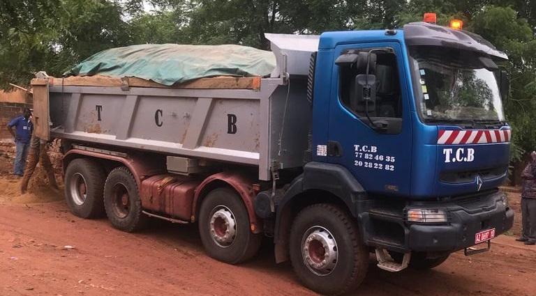Camion Bennes TCB Sarl Bamako Mali