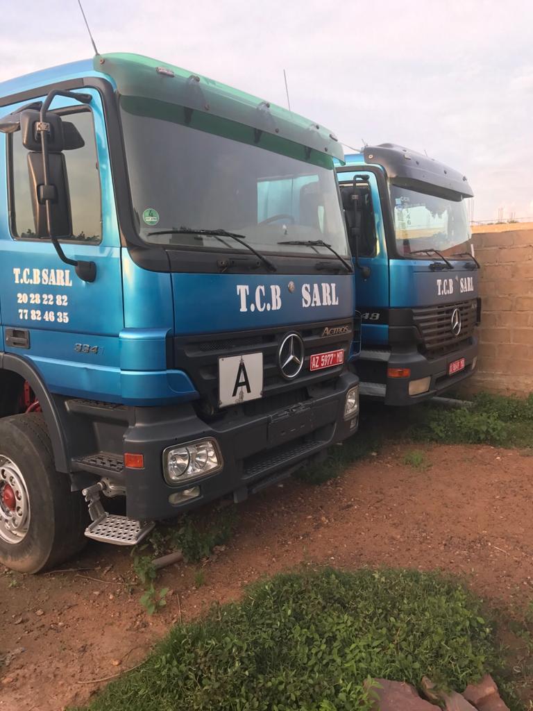 Transport Camion Benne TCB Sarl Bamako Mali